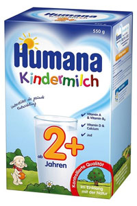 lapte praf humana kindermilch 2 550 gr humana. Black Bedroom Furniture Sets. Home Design Ideas